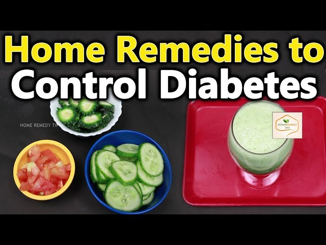 Control Diabetes Naturally || Home Remedies To Control Sugar levels