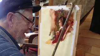Richard Schmid Tribute created by Michelle Dunaway for the 2021 Vision X Live Art Conference
