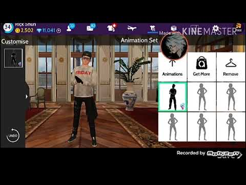 Avakin life Theme in Russia animation set