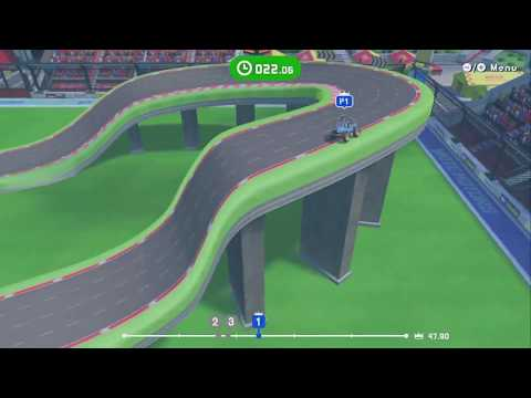 Slot Car Racing ~ Level 4: Snake Cane ~ All AI Difficulties – LABO 03: Vehicle Kit – No Commentary