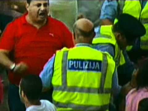 Valletta player, supporters end in Court