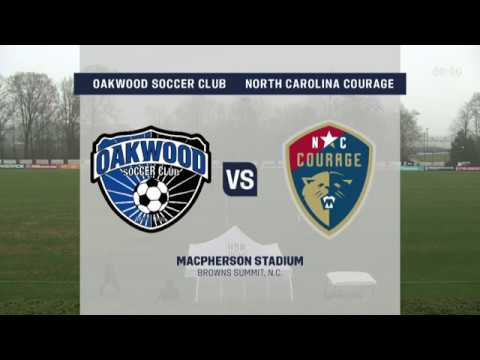 Girls' Development Academy Spring Showcase: U-15 Oakwood Soccer Club Vs. NC Courage