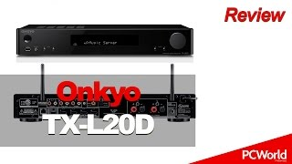 onkyo TX-L20D, receptor A/V estreo conectado  review en espaol