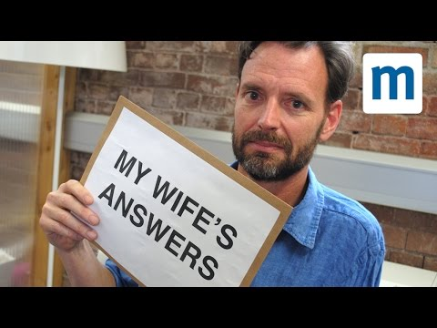 Tim Dowling: what my wife really thinks