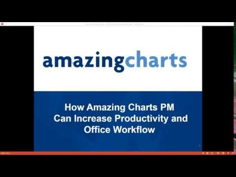 Webinar: How Amazing Charts Practice Management Can Increase Productivity and Office Workflow
