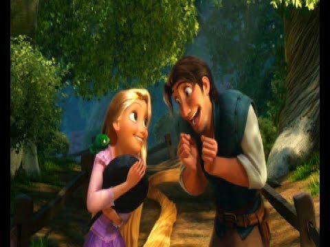 Tangled: Rapunzel & Flynn - Accidentally In Love - YouTube