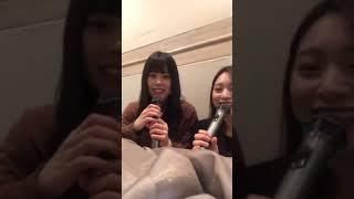 01:13 PM (UTC+9) インスタライブ with 吉川七瀬 0:01~ 中野郁海のコメ...