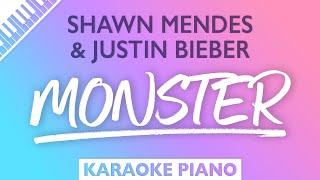 Download Shawn Mendes - Monster (Karaoke Piano)