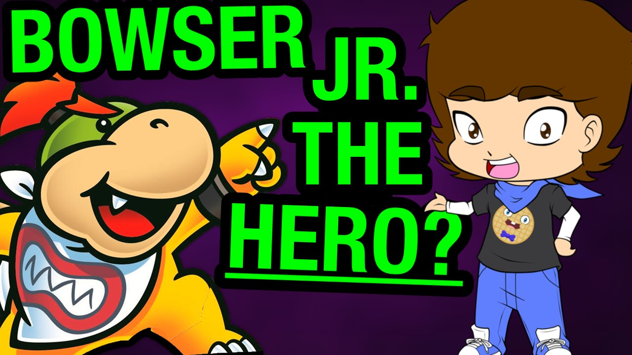 Download Bowser Jr. is NOT EVIL? (Super Mario Bros. Theory) - ConnerTheWaffle
