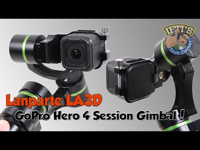 Lanparte LA3D - GoPro Hero 4 Session 3-Axis Gimbal! (Handheld + Wired) : REVIEW
