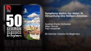 Symphony Mathis Der Maler: III. Versuchung Des Heiligen Antonius