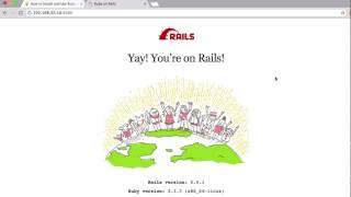 How to Install Ruby on Rails with PostgreSQL on CentOS 7