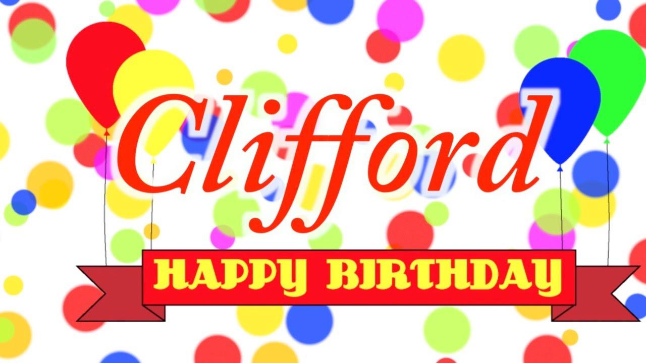 Happy Birthday Clifford Song