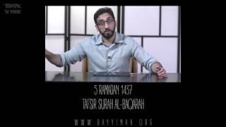 Download Tafsir: Surah al-Baqarah - Nouman Ali Khan - Day 5
