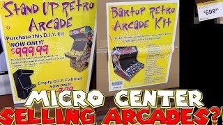 Micro Center Selling DIY Arcades?!