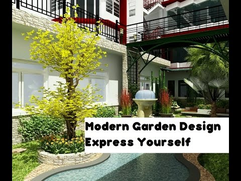 Modern Garden Design Express Yourself