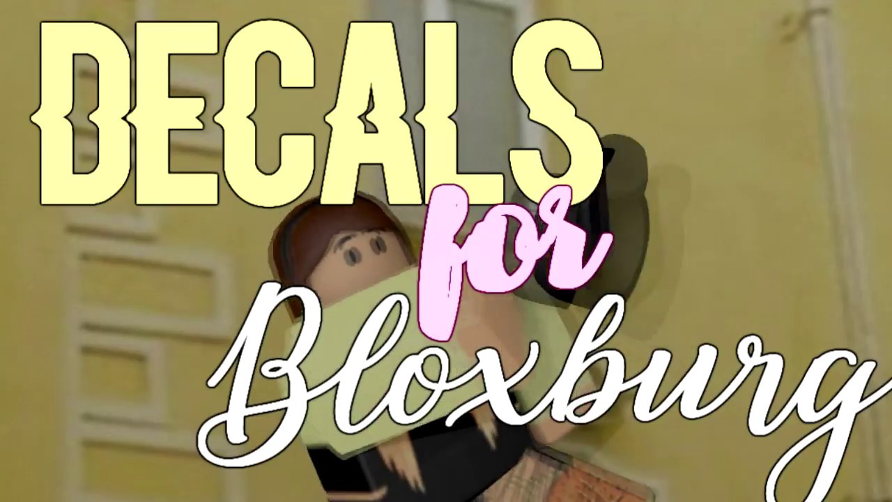 Bloxburg Aesthetic Decals Slubne Suknie Info