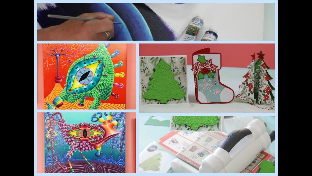 Manosalaobratv programa 92 ideas navide as maraton de - Ideas para pintar cuadros ...