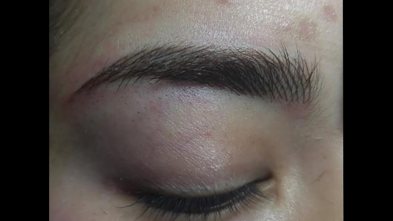 Eyebrow Microblading By Dolled Up Makeup Studio Supply Youtube