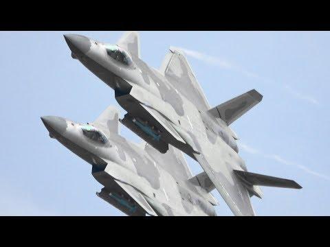 中国空军 歼-20 Chinese J-20 Super Powerful Demo !!!  珠海航� 第十二届 中国国际航空航天博览会