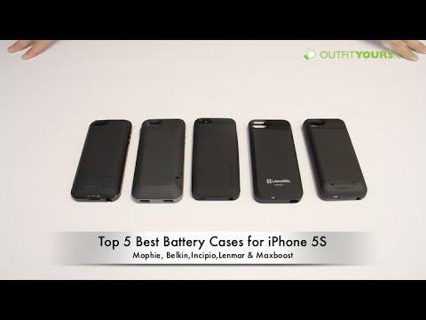 Top 5 Best iPhone 5S Battery Cases - mophie, Incipio, Belkin, Lenmar...
