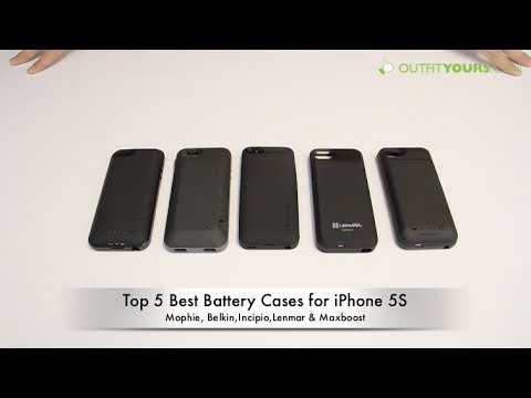 Top 5 Best iPhone 5S Battery Cases - mophie, Incipio, Belkin, Lenmar...