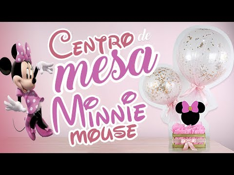 Centro de Mesa Minnie Mouse! (Centerpiece Minnie Mouse)