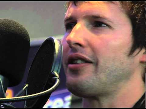 James Blunt - You're Beautiful LIVE (Real Radio Band in the Boardroom)