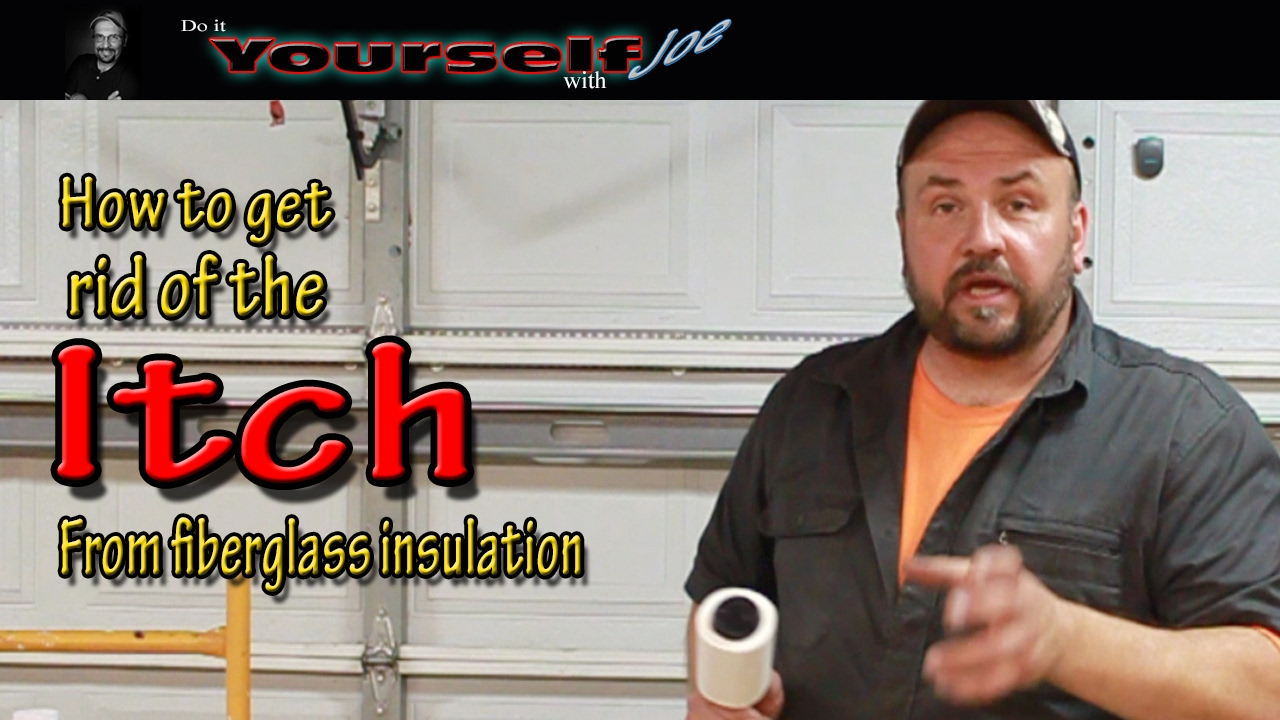 how to get rid of fiberglass itch
