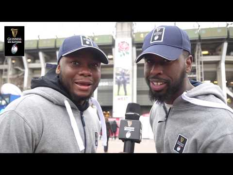 Cheeky Sport speak to the fans before England v Scotland! | Guinness Six Nations
