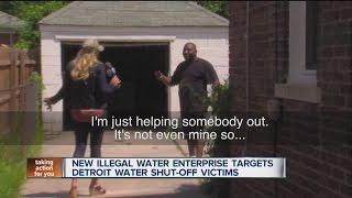 New illegal water enterprise targets Detroit water shut-off victims