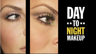 DAY TO NIGHT MAKEUP TUTORIAL LOOK Thumbnail