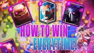 Clash Royale | How To Win EVERY Single Time!! No Hack! No Scam!