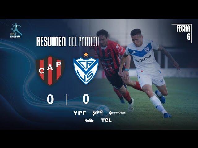 Copa Diego Maradona | Fecha 6 | resumen de Patronato - Vélez