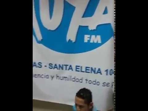 JUEVES 27 DE ABRIL DJ GHOST EN VIVO DESDE RADIO LA TUYA 104.5 FM GUAYAQUIL SEGUNDA INVITACION