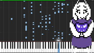 Home - Undertale [Piano Tutorial] (Synthesia) // PianoPrinceOfAnime