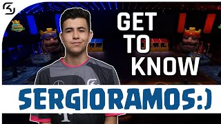 GET TO KNOW SERGIO RAMOS: CLASH ROYALE PLAYER | SK CLASH ROYALE