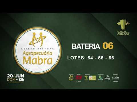 BATERIA 6 54   55   56