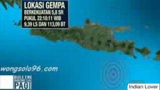 Heboh Nih !! Gempa Guncang Jawa Timur Warga Pun Berhamburan Keluar Rumah