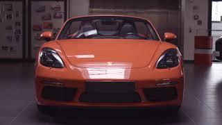 Porsche демонстрационный ролик Panamera/Boxter