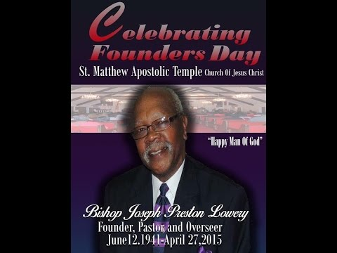 In Loving Memory of the Late Bishop Joseph P. Lowery
