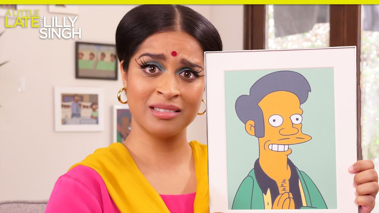 The Simpson's Manjula on The Problem with Apu