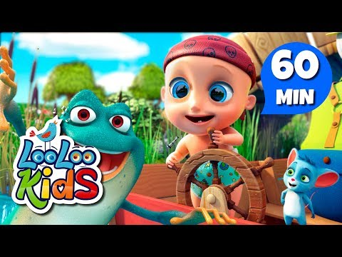 Five Little Speckled Frogs - Educational Songs for Children | LooLoo Kids