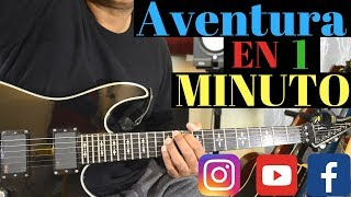 26 Aventura Songs in 1 Minute