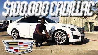 A 640 hp Family Sedan || 2017 Cadillac CTS-V Review