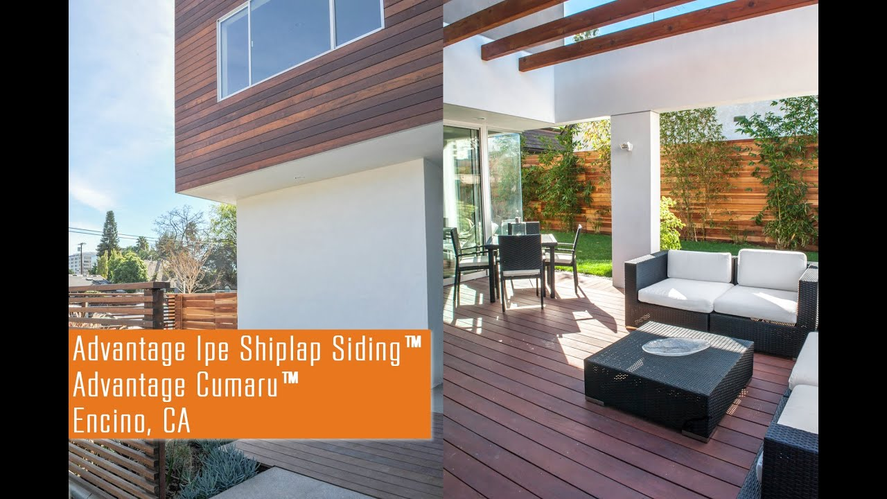 Advantage Cumaru Decking Advantage Ipe Shiplap Siding Encino Ca