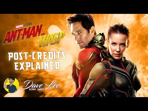 ANT-MAN AND THE WASP - Post Credits Scenes...