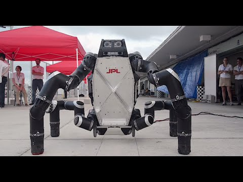 Crazy Engineering: RoboSimian Robot
