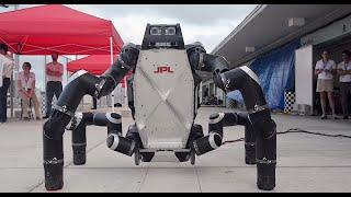 Crazy Engineering: RoboSimian Robot