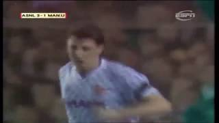 all steve bruce goals for man utd